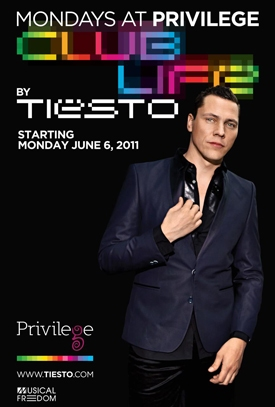 Tïesto's 2011 Residency at Privilege Ibiza